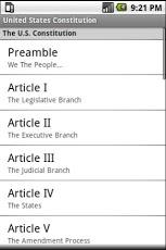 United States Constitution App - 1