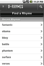 B-Rhymes Dictionary-1
