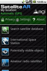 Satellite AR App - 1