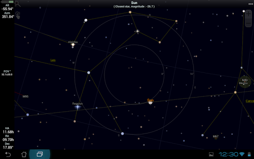 SkEye Free | Astronomy App - 1