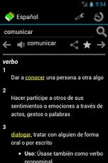 Spanish Dictionary App - 1