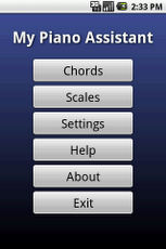 My Piano Assistant App - 1
