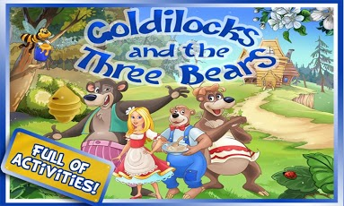 Goldilocks & Three Bears Book App - 1