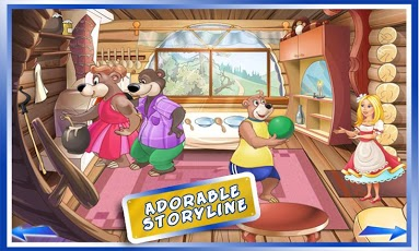 Goldilocks & Three Bears Book App - 4