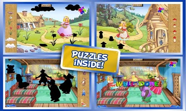 Goldilocks & Three Bears Book App - 5