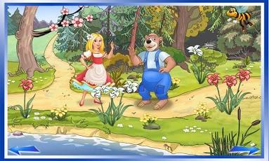 Goldilocks & Three Bears Book-6