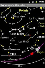 Sky Map of Constellations-1