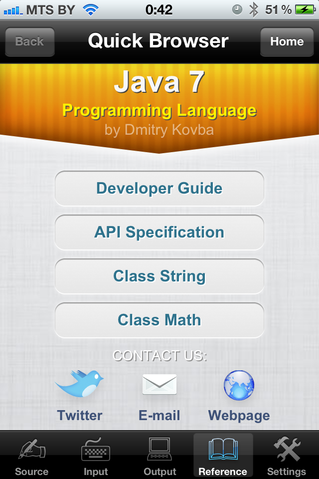 Java 7 Programming Language with Reference