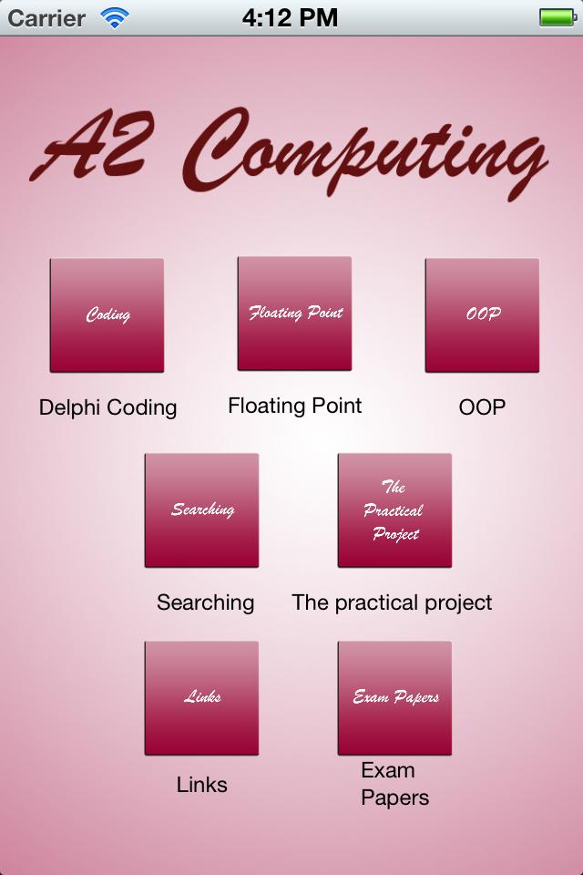 A2 Computing Revision-1