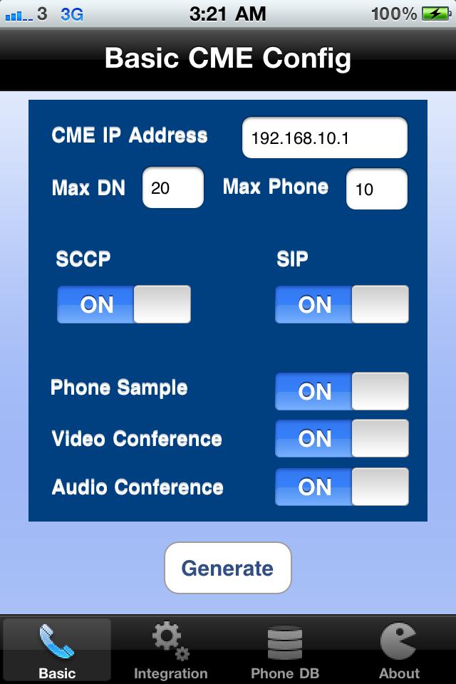 CME Config Generator-1