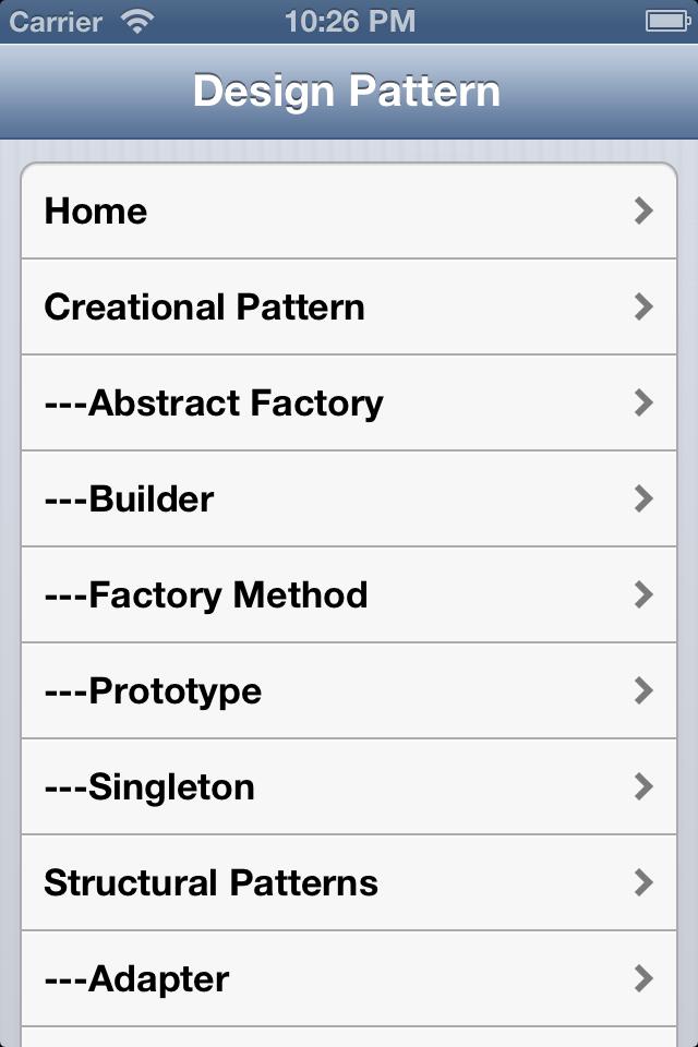 Design Pattern Reference-1
