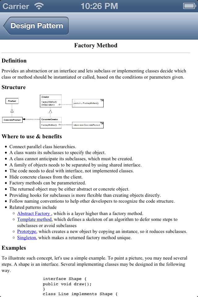 Design Pattern Reference-3