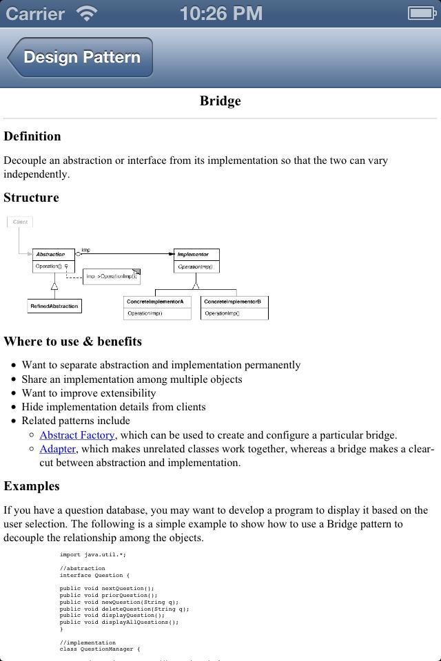 Design Pattern Reference-4
