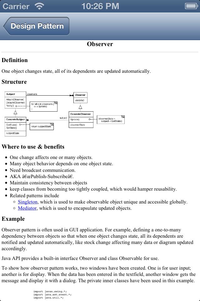 Design Pattern Reference-5