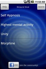 Binaural beats therapy - beta