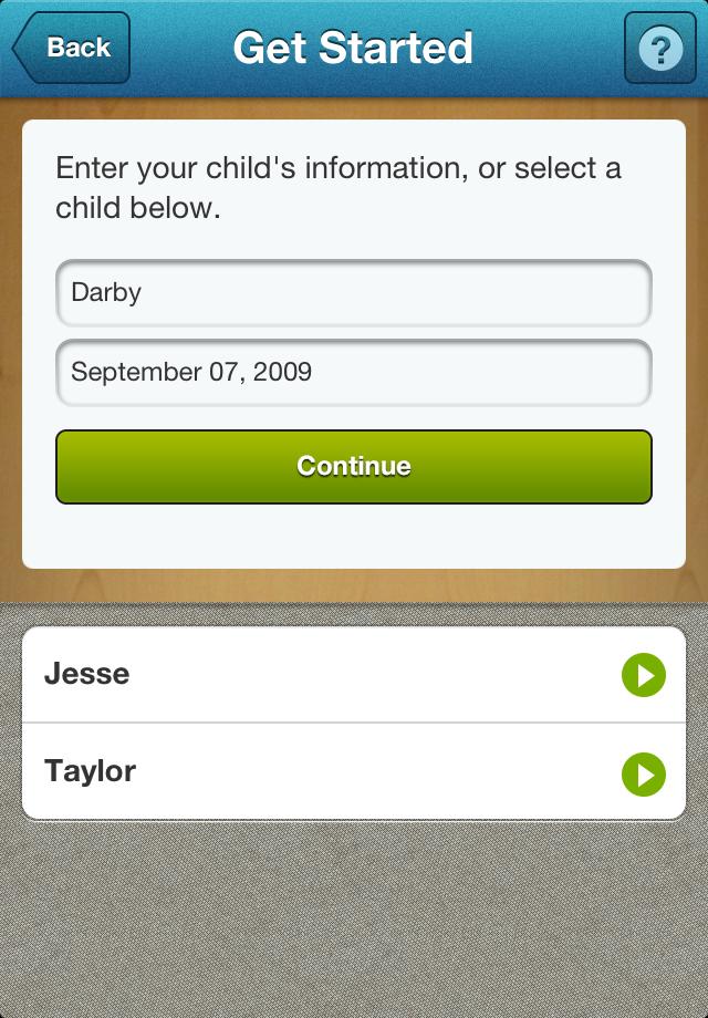 Questioning Autism? App - 2