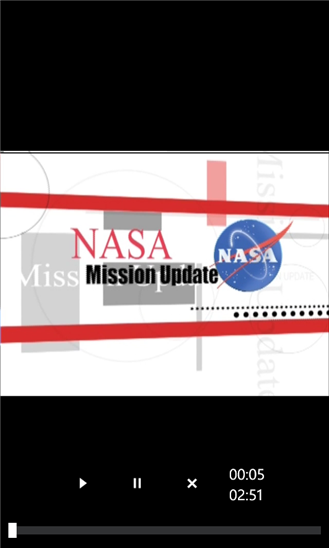 NASA Video Feeds App - 4