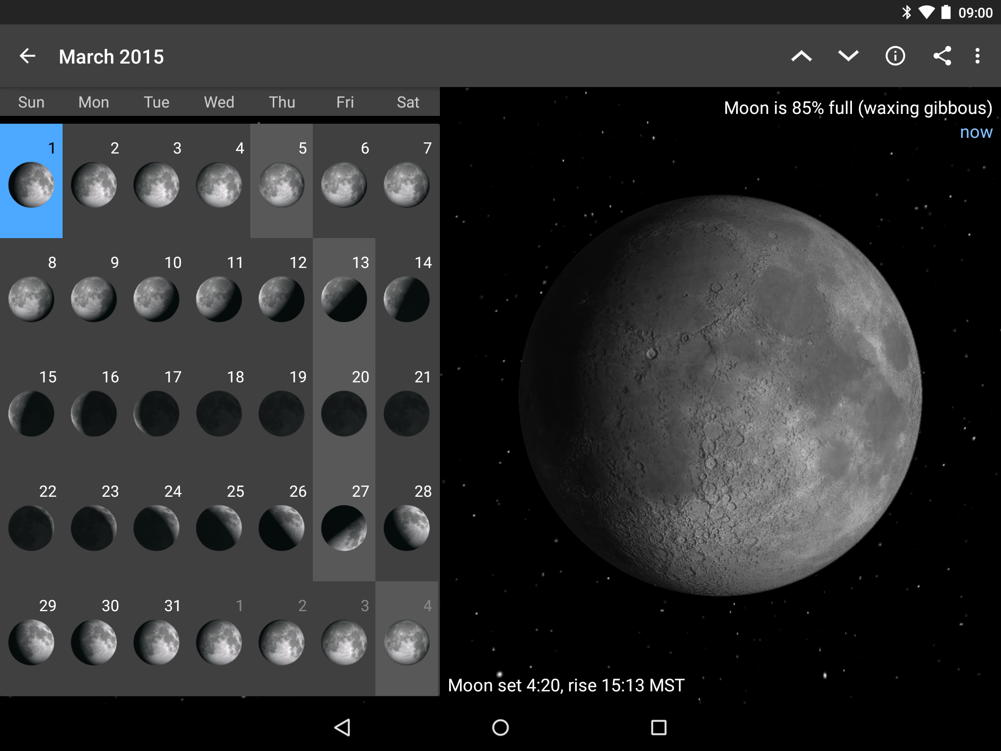 Moon Phase Pro-4