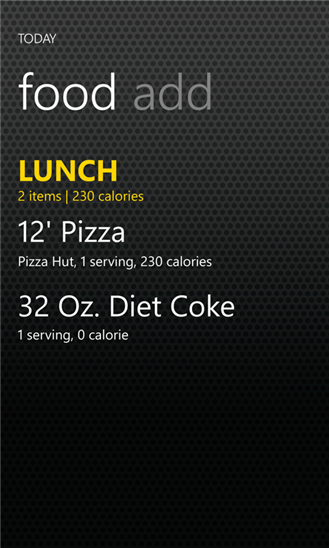 Calorie Tracker-2