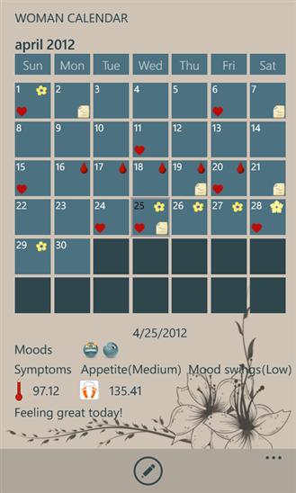 Woman Calendar-2
