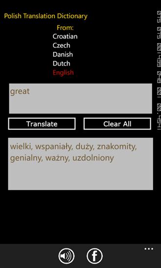 Polish Translation Dictionary-3