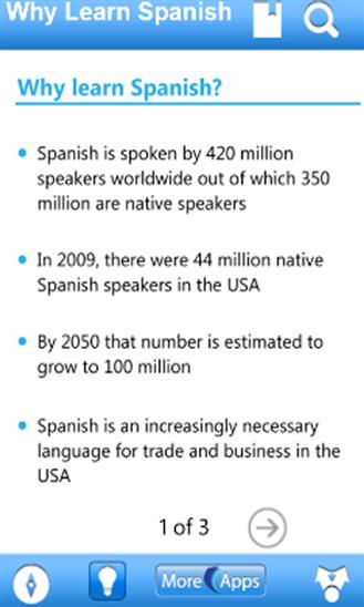 Learn Spanish by WAGmob-5