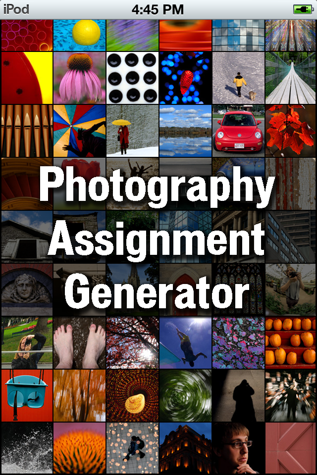 Photography Assignment Generator-1