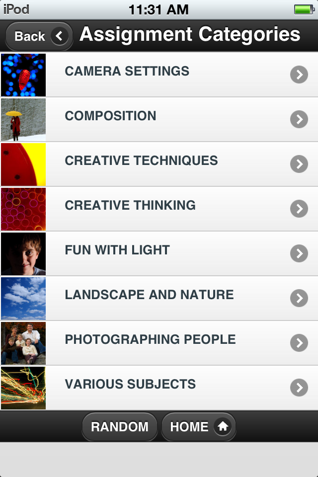 Photography Assignment Generator App - 2