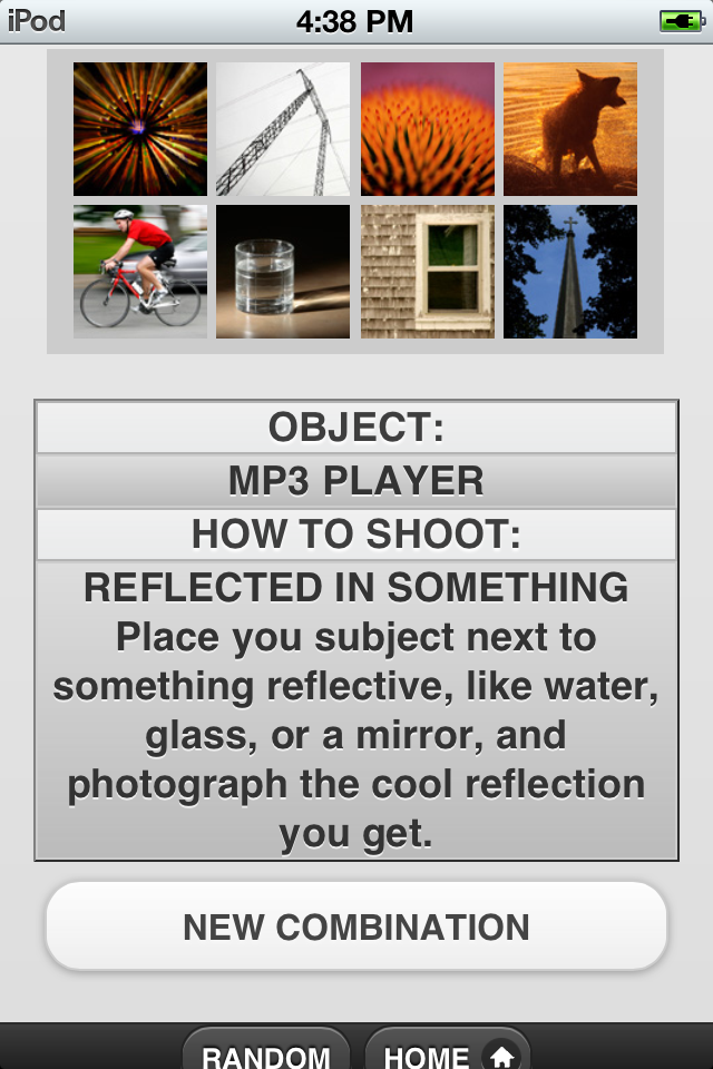 Photography Assignment Generator App - 4