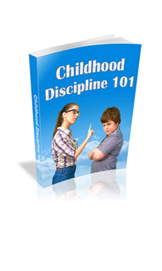 Childhood Discipline 101-1