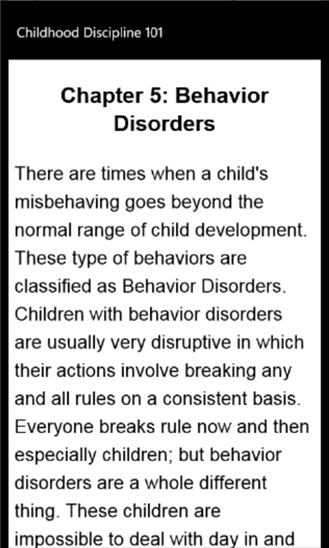 Childhood Discipline 101-3