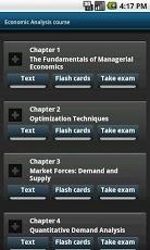 Economic Analysis course. MBA-1