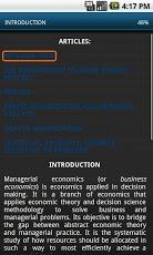 Economic Analysis course. MBA-2