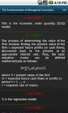 Economic Analysis course. MBA-5