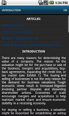 Valuations in Business. MBA-2