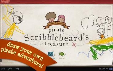 Pirate Scribblebeard - Draw App - 1