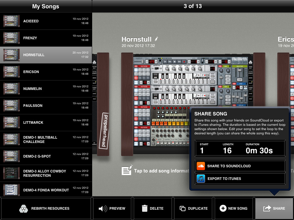 ReBirth for iPad-2