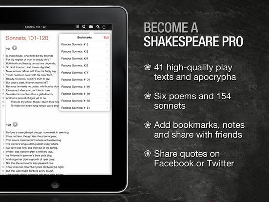 Shakespeare App - 1