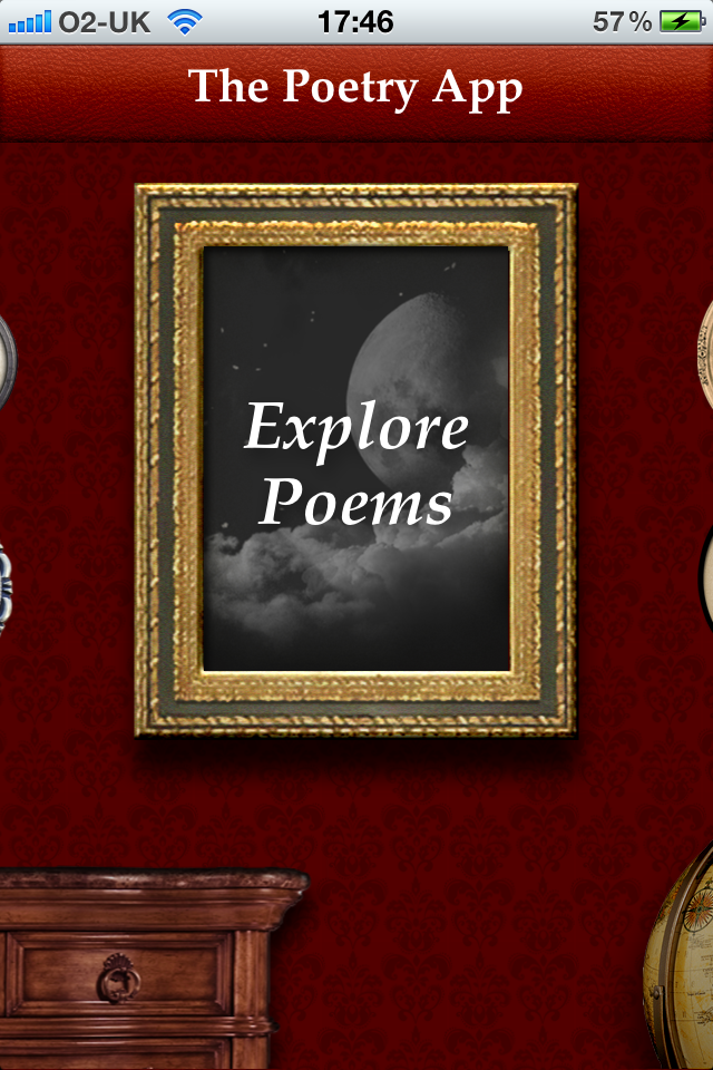 The Poetry App for iPhone-1