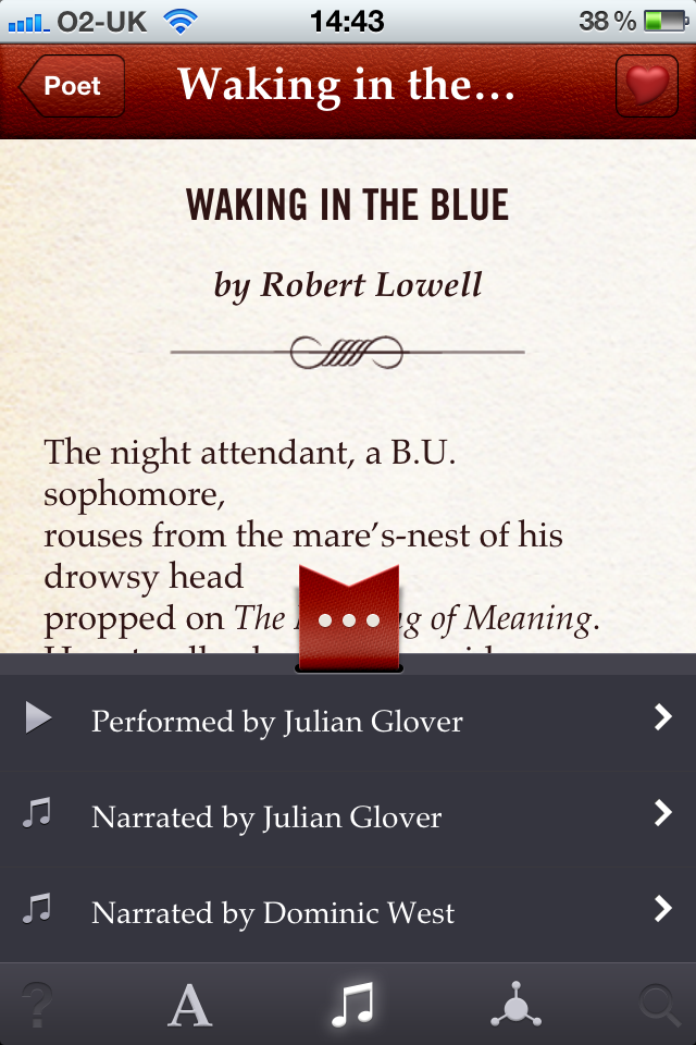 The Poetry App for iPhone App - 3