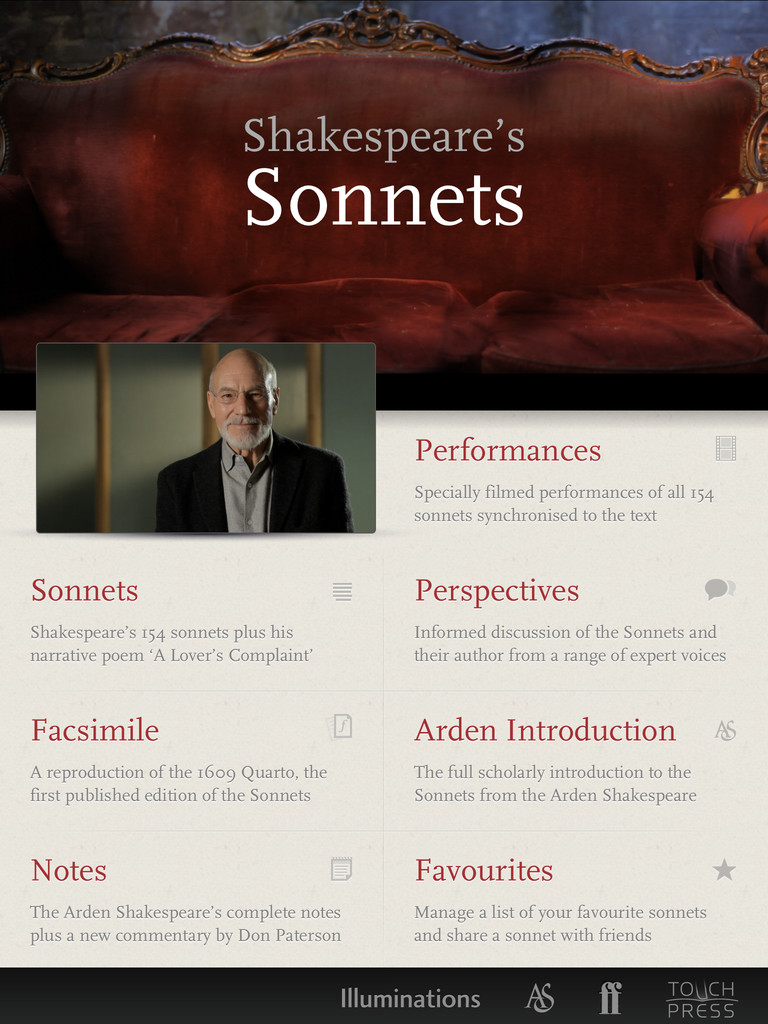 The Sonnets by William Shakespeare App - 1
