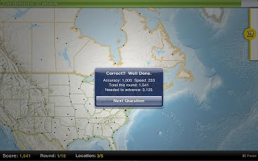 GeoBee Challenge App - 4