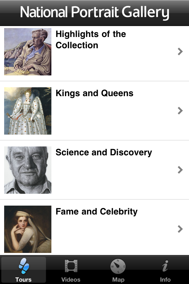 National Portrait Gallery App - 1
