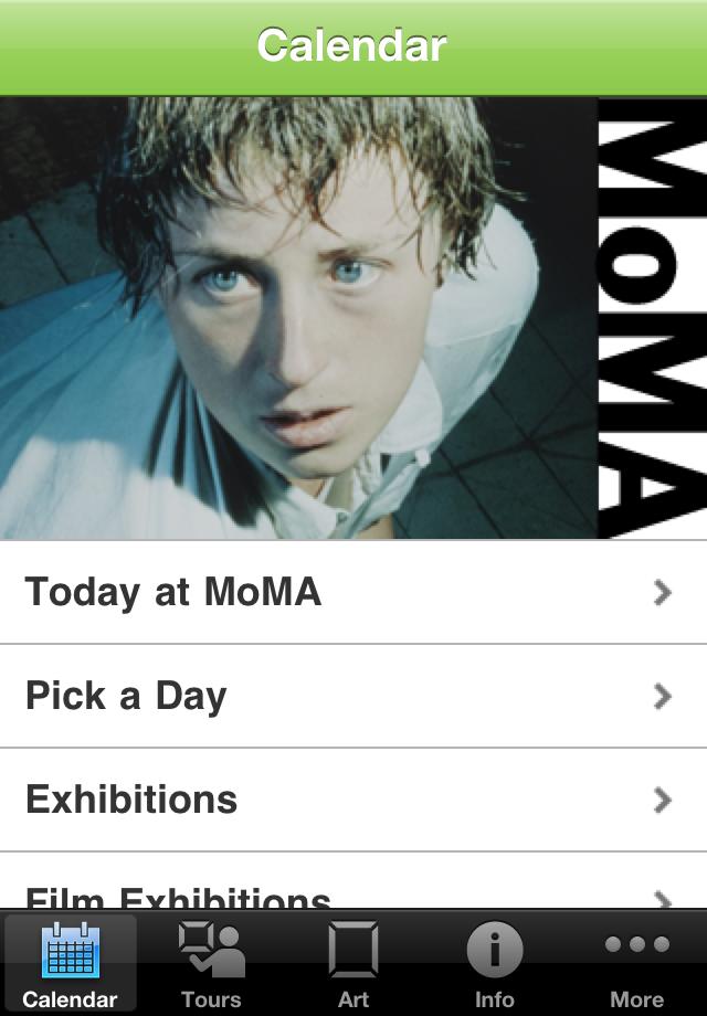 MoMA App - 1