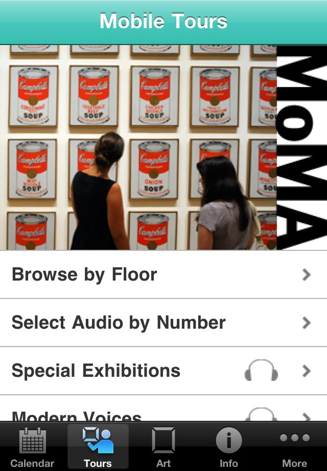 MoMA App - 2