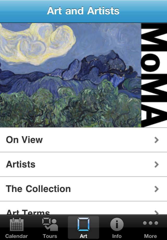 MoMA App - 3
