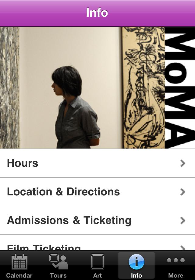 MoMA App - 4