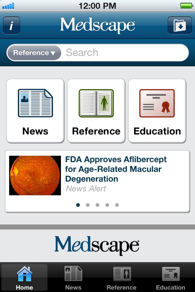 Medscape App - 1