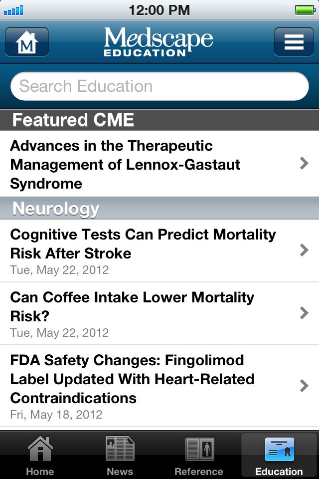 Medscape App - 4