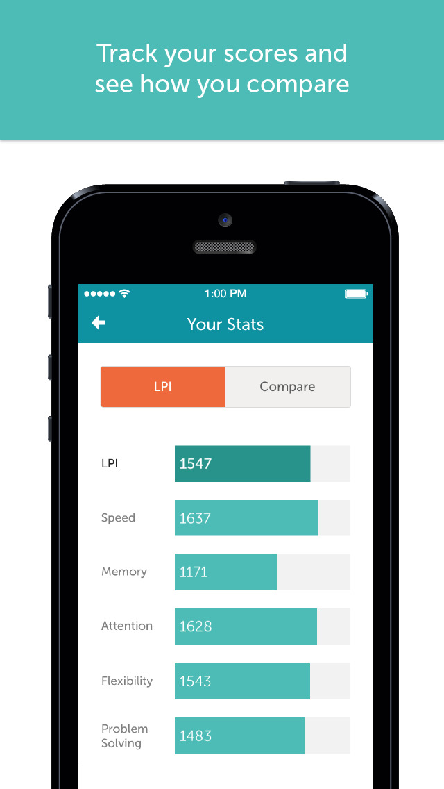 Lumosity Mobile App - 4